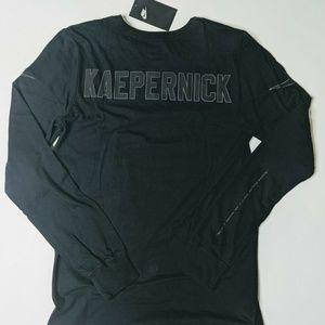 Nike Colin Kaepernick Long Sleeve Shirt Black 3M